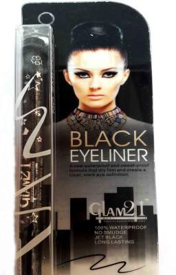 Glam 21 Water Proof Black Eyeliner 1 2 g