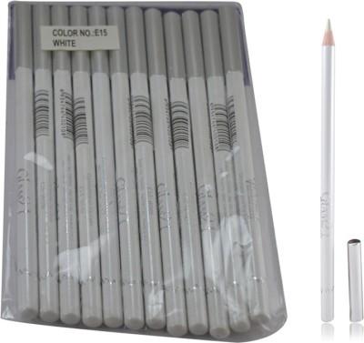 GLAM 21 WHITE GLIMMERSTICKS FOR EYES & LIPS PACK OF 12PCS-PH 1.8 g