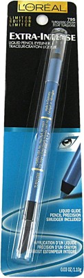 L,Oreal Paris Extra Intense Liquid Pencil Eyeliner 1.1 g(Turquoise Crush)