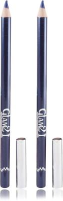 GLAM 21 BLUE GLIMMERSTICKS FOR EYES & LIPS PACK OF 2PCS 1.8 g