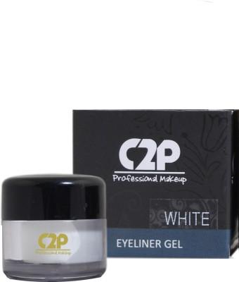 C2P Professional Make-Up Gel White Eyeliner 4 g