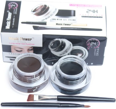 Music Flower Long Wear Gel Eye Liner 6 g(24 H Eye Studio)