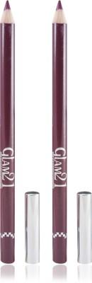 GLAM 21 RED GLIMMERSTICKS FOR EYES & LIPS PACK OF 2PCS 1.8 g