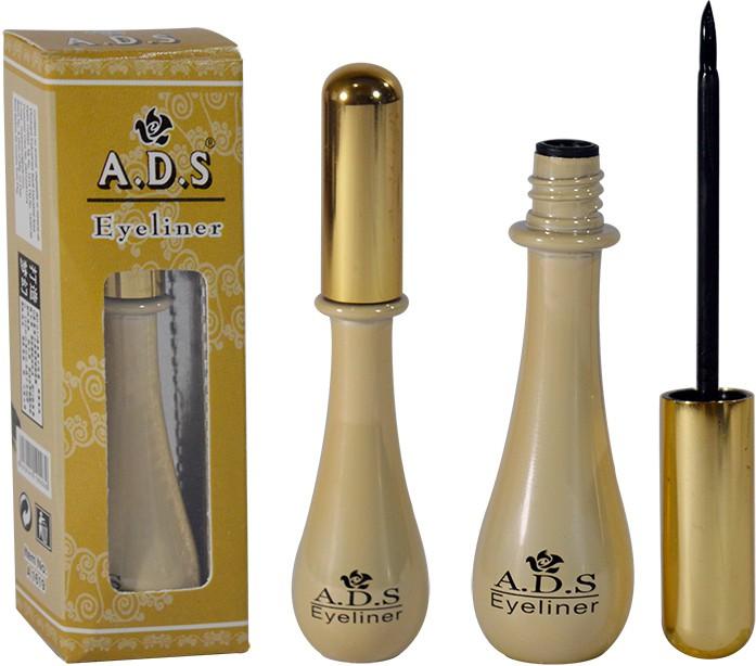 ADS Waterproof Eyeliner Pack of 1 5 g(POPM)