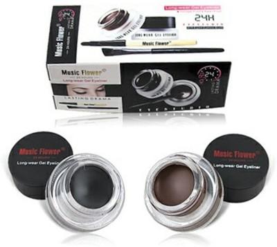 MUSIC FLOWER Eye Studio 24 hours Long Wear Gel Eyeliner 3 g