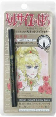 Creer Beaute La Rose De Versailles Waterproof Liquid Black 0.5 ml