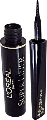L,Oreal Paris Super Liner Ultra-Lasting Precision 6 ml(Black Crystals)