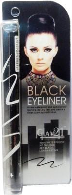 GLAM 21 WATERPROOF BLACK EYE LINER 2 ml