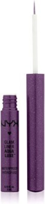 NYX Cosmetics Glam Liner Aqua Luxe Purple 3 ml