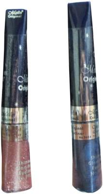 Meilin Shimmer Glam Shine Eyeliner in Romance & Navy-Blue 14 ml