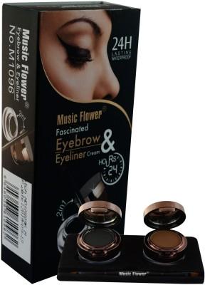 Forteens Music Flower Eyebrow & 2 in 1 Eyeliner Cream 14.5 g