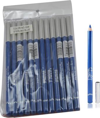 GLAM 21 BLUE GLIMMERSTICKS FOR EYES & LIPS PACK OF 12PCS-GM 1.8 g