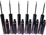 Matte Eye liner set 6DFP 10 ml (black)