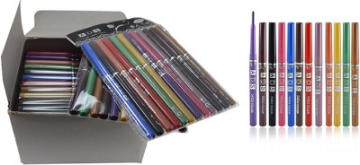 ADS DAZZLE COLOR PERFECT EYE/LIP LINER PACK OF 1 PACKET (Pack12) 5 g