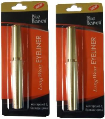 Blue Heaven Long Wear Eyeliner( Set of 2 Pc ) 7.5 ml