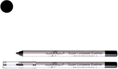 Diana of London Super Long Wear Eyeliner7Blackest Black 1.2 GM 1.2 g