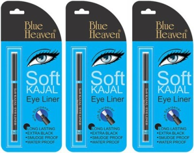 Blue Heaven soft kajal eyeliner (set of 3) 0.93 g