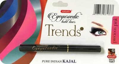 K-VEDA Eyeyurvedic Kohl Liner Trends, Precious Pink, Pure Indian Kajal 0.5 g
