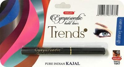 K-VEDA Eyeyurvedic Kohl Liner Trends, Alluring Azure, Pure Indian Kajal 0.5 g