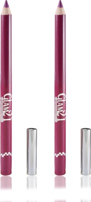 GLAM 21 PINK GLIMMERSTICKS FOR EYES & LIPS PACK OF 2PCS 1.8 g