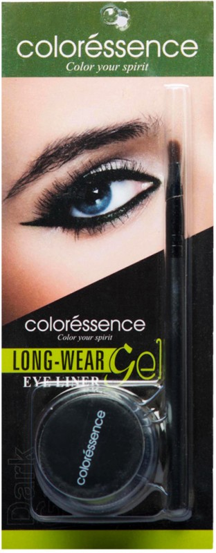 Coloressence Long Wear Gel Eye Liner 3 g(Green)
