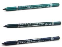 Bonjour Paris Single Apply 0107201623 Glazed Green-Green-Navy Blue Eye Liner 3.6 g(Glazed Green, Green, Navy Blue)
