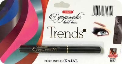 K-VEDA Eyeyurvedic Kohl Liner Trends, Subtle Taupe, Pure Indian Kajal 0.5 g