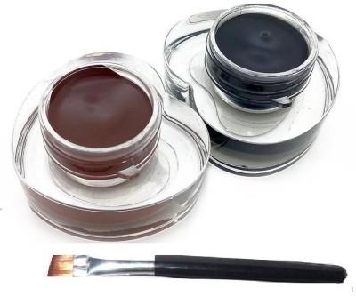 Pears Tailaimei Long Lasting Drama Gel Eye Liner Black-Brown 6 g(Jet Black, Brown)