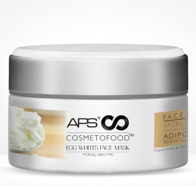 Aryanveda Aps Cosmetofood Egg Whites Face Mask