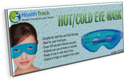 HealthTrack Hot/Cold Gel Gye Mask