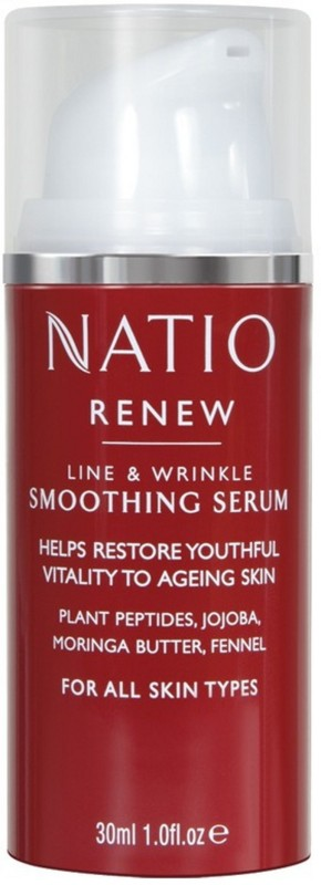 Natio Renew Line & Wrinkle Smoothing Serum(30 ml)