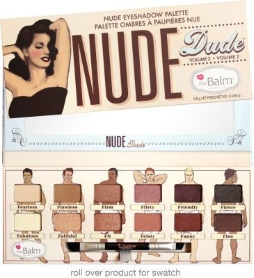 The Balm Nude Dude Vol 2 9.6 g(Nude-2)