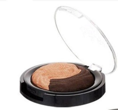 LAURA GELLER Baked Eclipse shadow Duo Champagne/Caviar 3 g