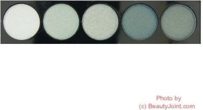 L. A. Colors Color Metallic shadow Cep Stormy 46 Stormy 3 g
