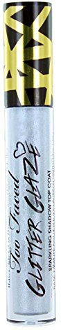 Too Faced Glitter Glaze Sparkling Shadow Top Coat Silver Spark 3 g(Silver)