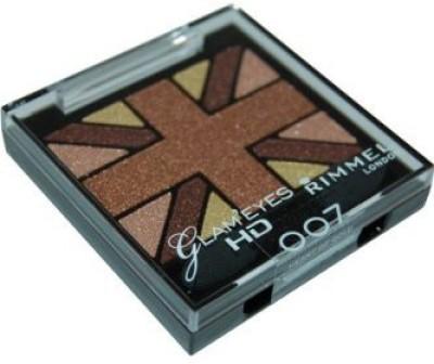 Rimmel Glam Hd Quad Shadow Palette Heart Of Gold 4.23 ml