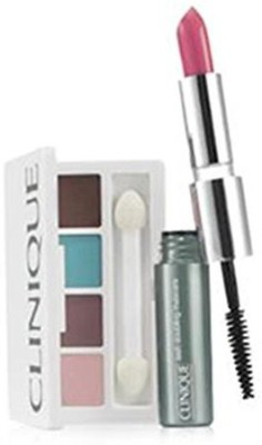 Clinique All About Shadow Quad Eyeshadow + 2 in 1 Mascara & Lipstick Duo 6 g
