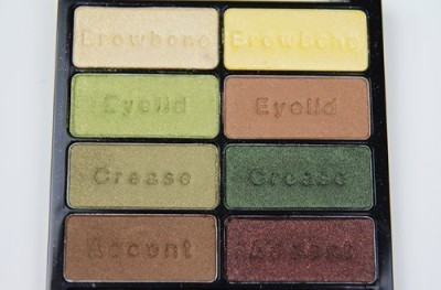 Black Radiance Eye Appreal 8 color eye shadow palette Collection 8.5 g