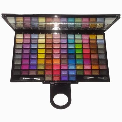 Miss Rose Professional Make-up Shine 100 Color Eye Shadow 68 g