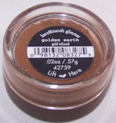 Bare Escentuals Glimmer shadow Golden Earth 42759 0.57 g