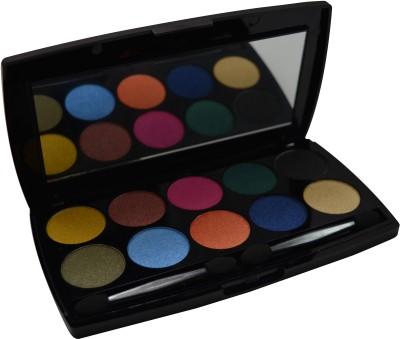 Forteens Ceremonial 10 Colors Eyes Pro Palette 0.7 g