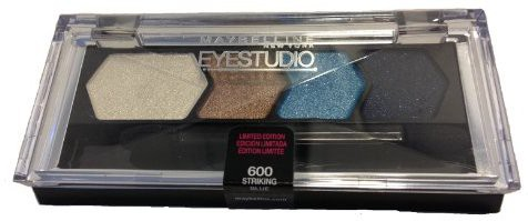 Maybelline Limited Edition Color Goes Electric Collection shadow Striking Blue 3 g(Shadow)