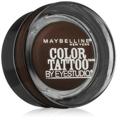 Maybelline Eye Studio Color Tattoo Leather 24 HR Cream Gel Eyeshadow, Chocolate Suede 1 g