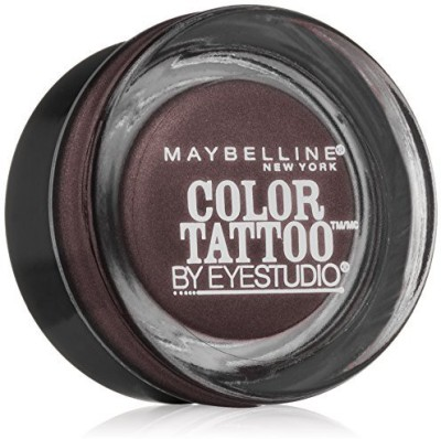 Maybelline Eye Studio Color Tattoo Leather 24 HR Cream Gel Eyeshadow, Vintage Plum 1 g