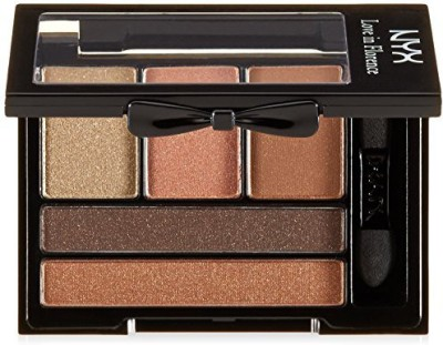 NYX Cosmetics Love in Florence Eye Shadow Palette, Bellini Kiss 1 g