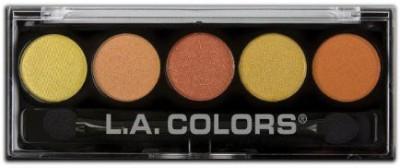 L.A. Colors La Colors Color Metallic Shadow Palette Fiesta 3 g