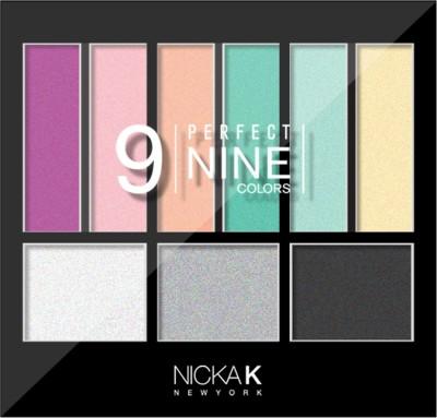 Nicka K Perfect Nine Colors - 3 14.1 g