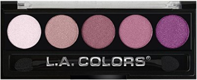 L.A. Colors Color Metallic Shadow Wine And Roses EP41 3 g