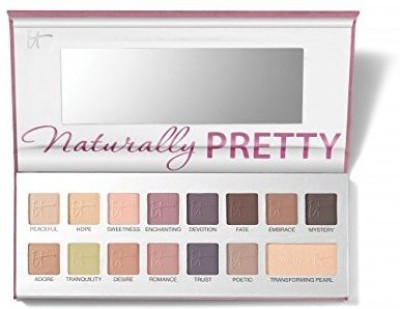 It Cosmetics Naturally Pretty Matte Vol 2. The Romantics! Luxe Transforming Eyeshadow Palette, Limited Edition! 1 g