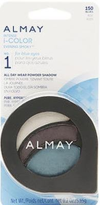 Almay Intense I-Color Evening Smoky Eye Shadow, Blues/150 1 g